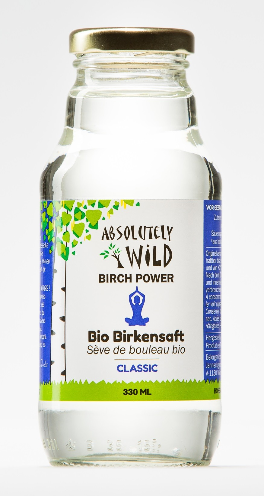 ABSOLUTELY WILD Bio Birch Power CLASSIC 330ml Aktion