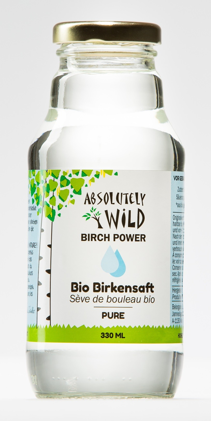 ABSOLUTELY WILD Bio Birch Power PURE 330ml Aktion