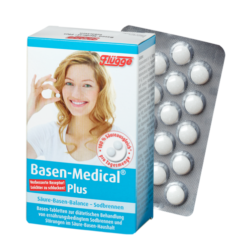 Flügge® Basen-Medical® Plus, Basen-Tabletten 120 Tbl