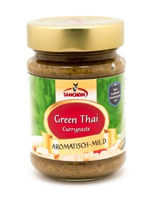 Sanchon Green Thai Currypaste 190 g