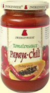 Zwergenwiese Tomatensauce Papaya-Chili 340 ml