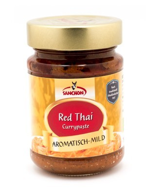 Sanchon Red Thai Currypaste 190 g