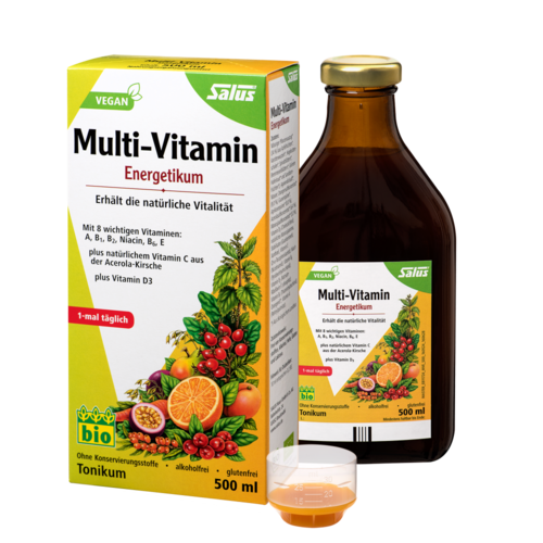 Salus® Multi-Vitamin-Energetikum, Tonikum 500ml