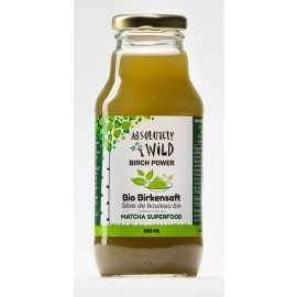 ABSOLUTELY WILD Bio Birch Power MATCHA 330ml NEU