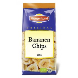 Morgenland Bananenchips Bio 250g