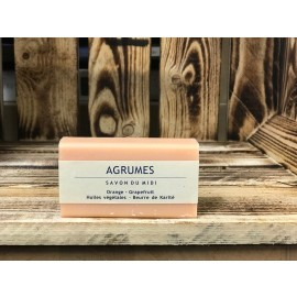 Savon du Midi Orange-Grapefruit Karite-Seife 100g