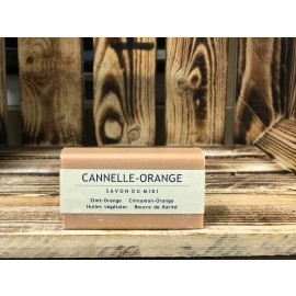 Savon Du Midi Zimt-Orange-Karite-Seife 100g